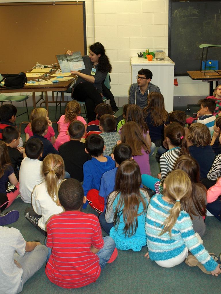 Hanukkah Book Donation at Brayton Elementary School